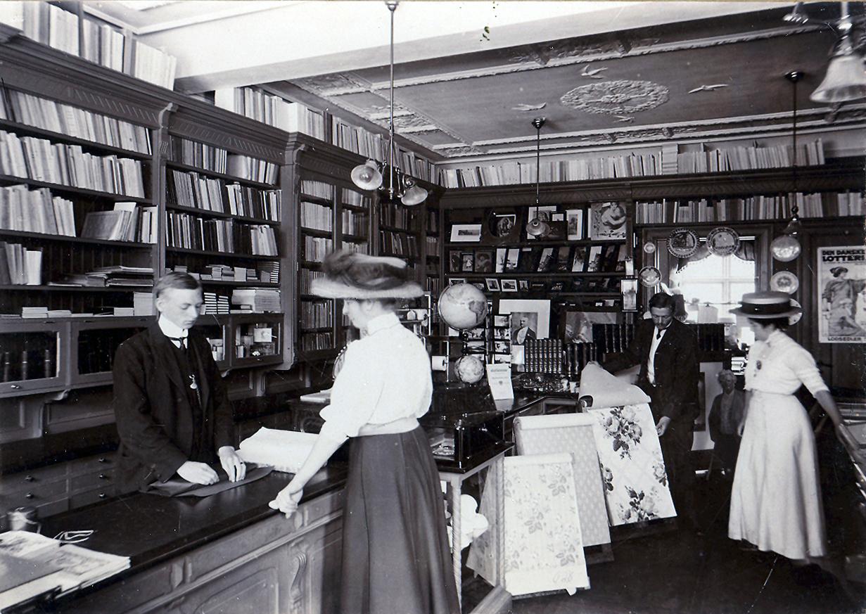 danske boghandlere