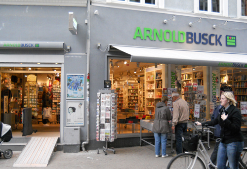 arnold busck odense