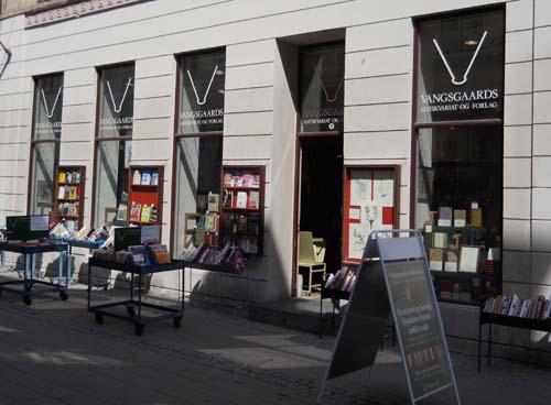 Boghandlere i Danmark - Vangsgaards