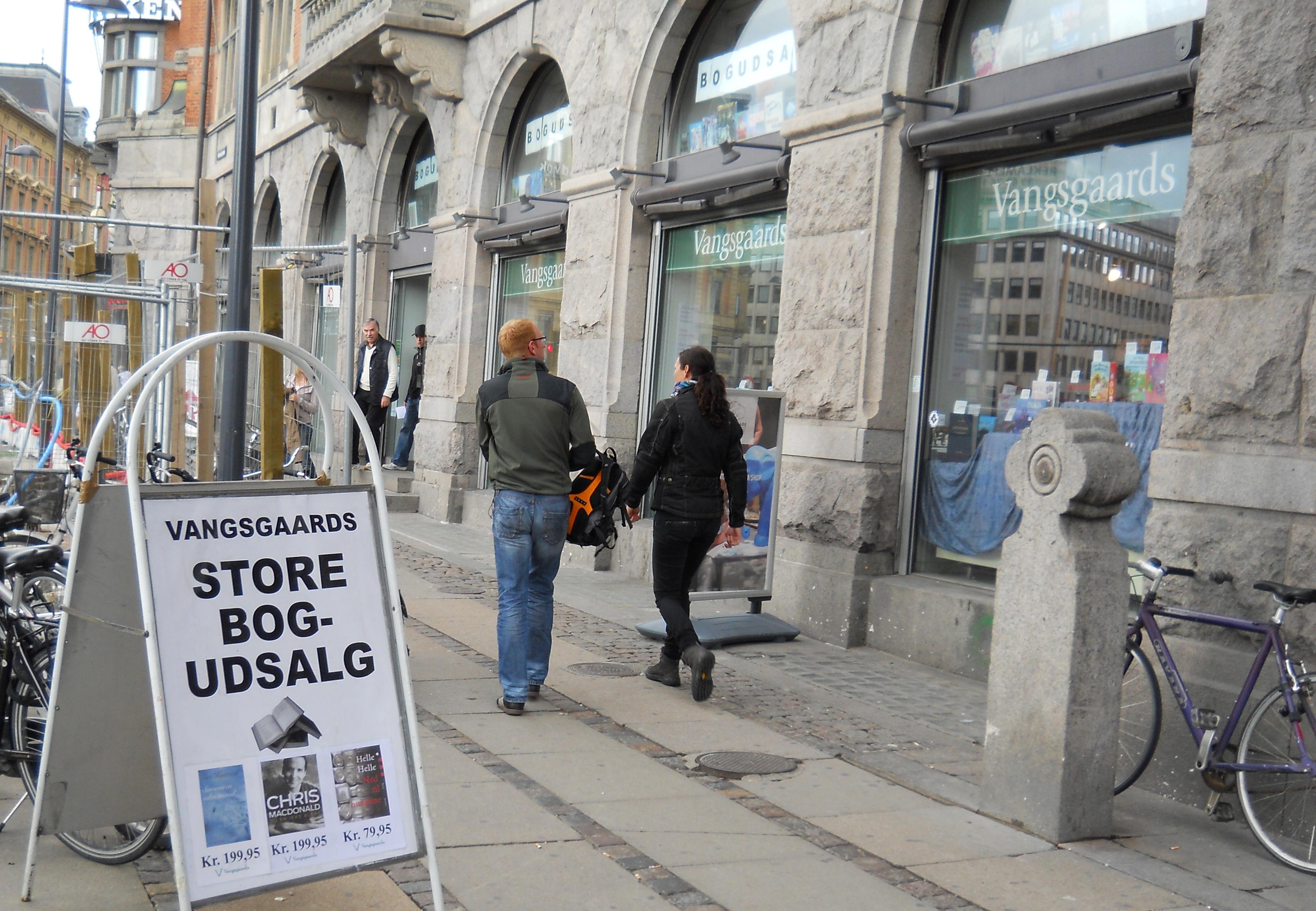 Boghandlere i Danmark: Forside