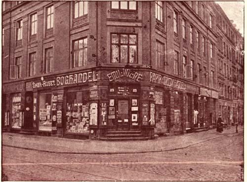 boghandel østerbrogade