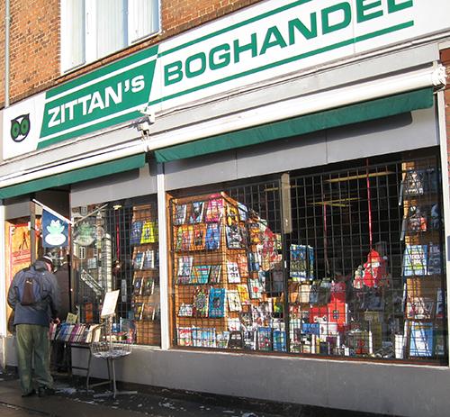 Boghandlere I Danmark Det Var Zittans